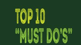 "Top 10 ""Must Do's"" Before You Hit 35years"